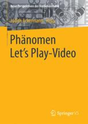 Phänomen Let´s Play-Video
