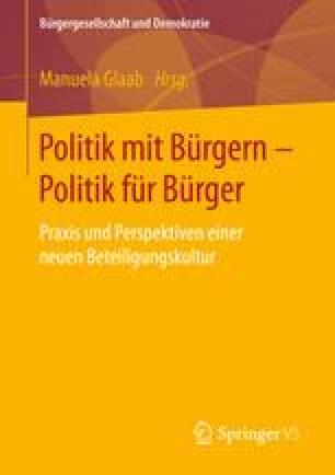 Politik mit Bürgern - Politik für Bürger