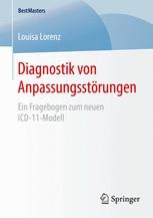 Diagnostik von Anpassungsstörungen