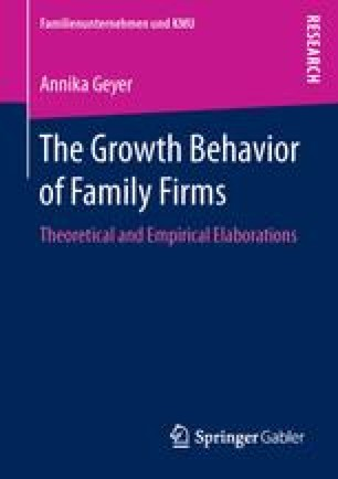 The Growth Behavior of Family Firms