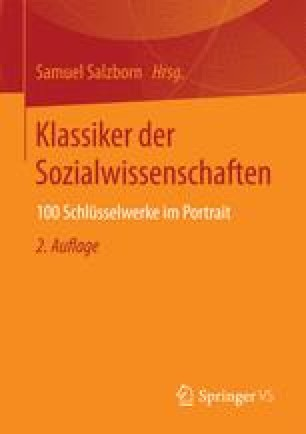Klassiker der Sozialwissenschaften