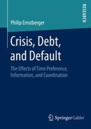 Crisis, Debt, and Default