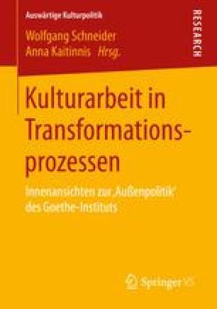 Kulturarbeit in Transformationsprozessen