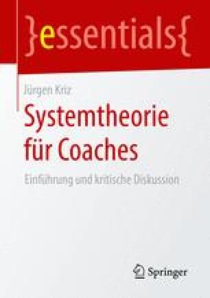Systemtheorie für Coaches