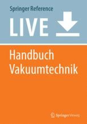 Handbuch Vakuumtechnik