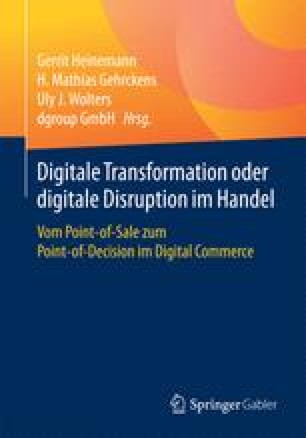 Digitale Transformation oder digitale Disruption im Handel