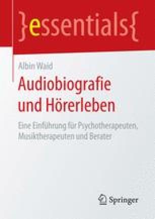 Audiobiografie und Hörerleben