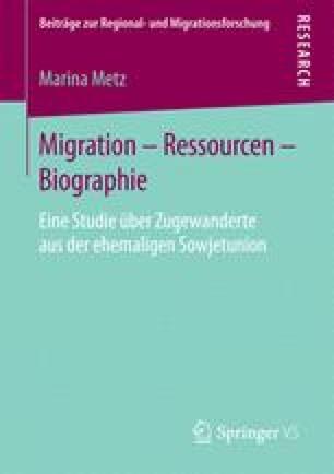 Migration – Ressourcen – Biographie