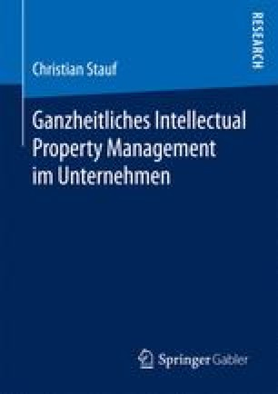 Ganzheitliches Intellectual Property Management im Unternehmen