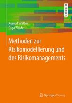 Methoden zur Risikomodellierung und des Risikomanagements