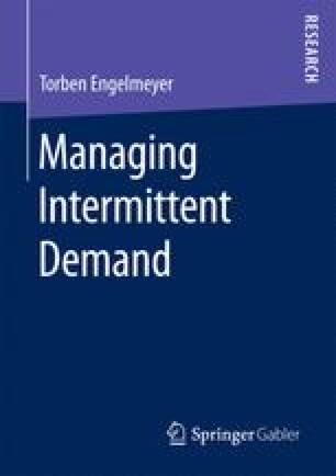Managing Intermittent Demand