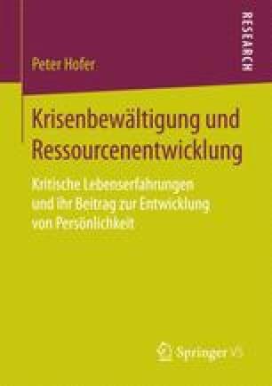 Krisenbewältigung und Ressourcenentwicklung