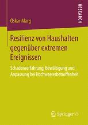 Resilienz von Haushalten gegenüber extremen Ereignissen