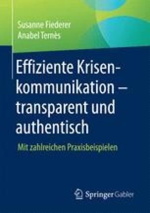 Effiziente Krisenkommunikation – transparent und authentisch