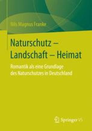 Naturschutz – Landschaft – Heimat