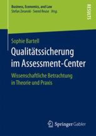 Qualitätssicherung im Assessment-Center