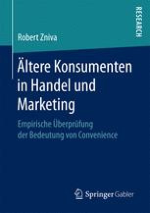 Ältere Konsumenten in Handel und Marketing