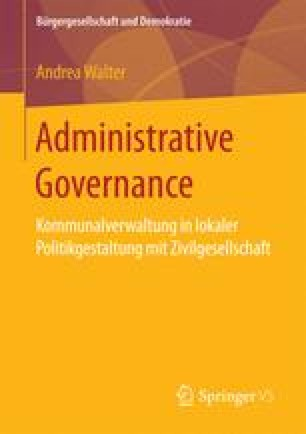 Administrative Governance