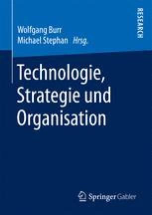 Technologie, Strategie und Organisation