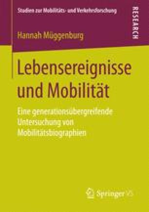 Lebensereignisse und Mobilität