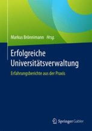 Erfolgreiche Universitätsverwaltung