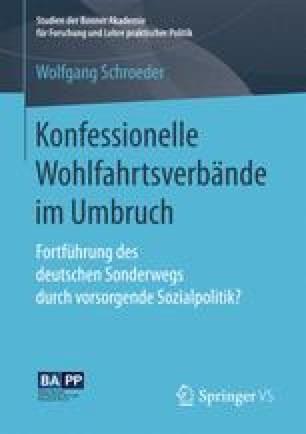 Konfessionelle Wohlfahrtsverbände im Umbruch
