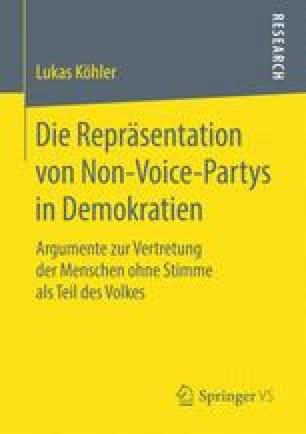 Die Repräsentation von Non-Voice-Partys in Demokratien