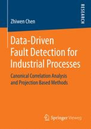 Data-Driven Fault Detection for Industrial Processes