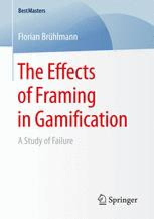 The Effects of Framing in Gamification