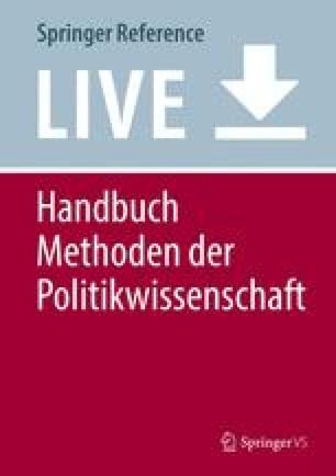 Handbuch Methoden der Politikwissenschaft