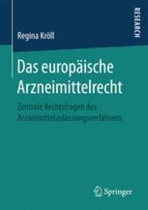 Das europäische Arzneimittelrecht