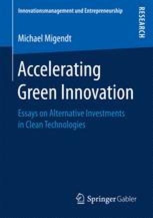 Accelerating Green Innovation