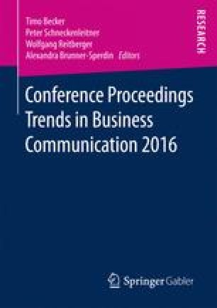Conference Proceedings Trends in Business Communication 2016