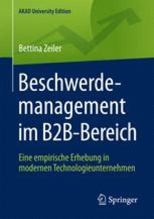 Beschwerdemanagement im B2B-Bereich