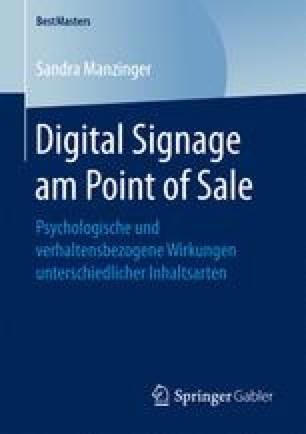 Digital Signage am Point of Sale