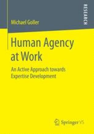 Human Agency at Work