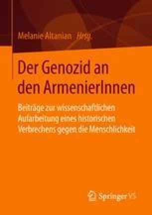Assimilating Armenians, 1915–1917 | SpringerLink