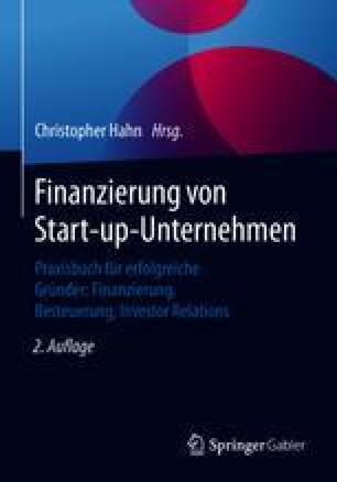 Finanzierung von Start-up-Unternehmen