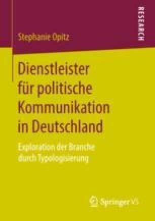 Dienstleister für politische Kommunikation in Deutschland