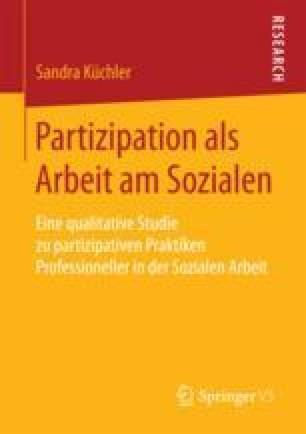 Partizipation als Arbeit am Sozialen