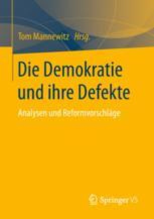 Die Demokratie und ihre Defekte