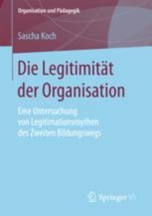 Die Legitimität der Organisation
