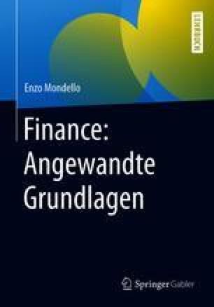 Finance: Angewandte Grundlagen