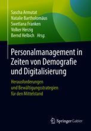 Personalmanagement in Zeiten von Demografie und Digitalisierung