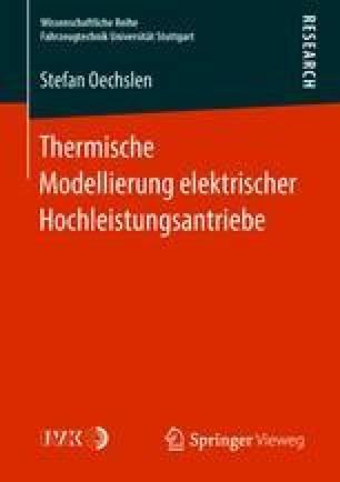 Thermische Modellierung elektrischer Hochleistungsantriebe