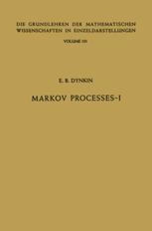 Markov Processes