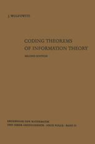 Coding Theorems of Information Theory