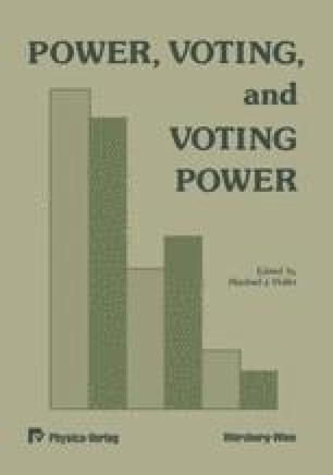 Power, Voting, and Voting Power