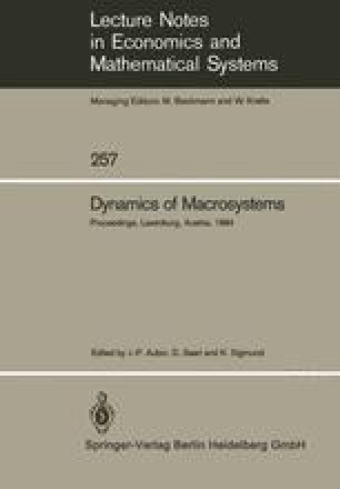 Dynamics of Macrosystems