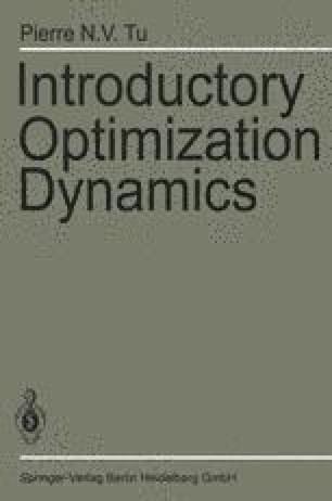 Introductory Optimization Dynamics